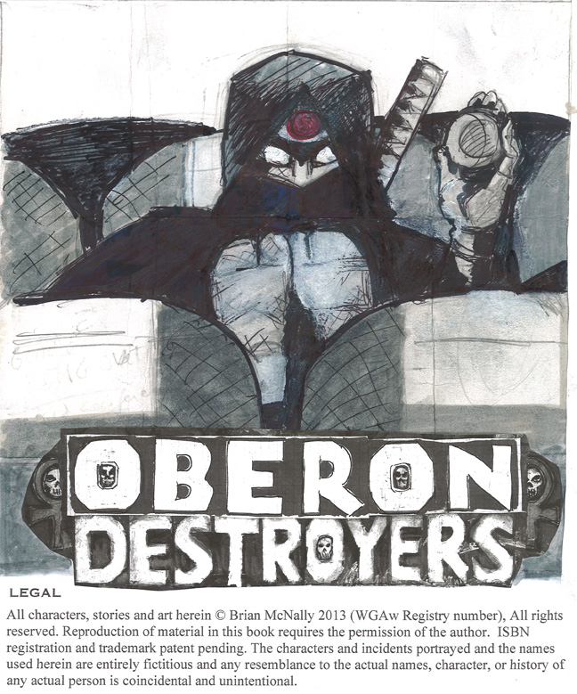 Oberon Destroyers: The Quiet Ninja (23rd of the House of Ugamoto)