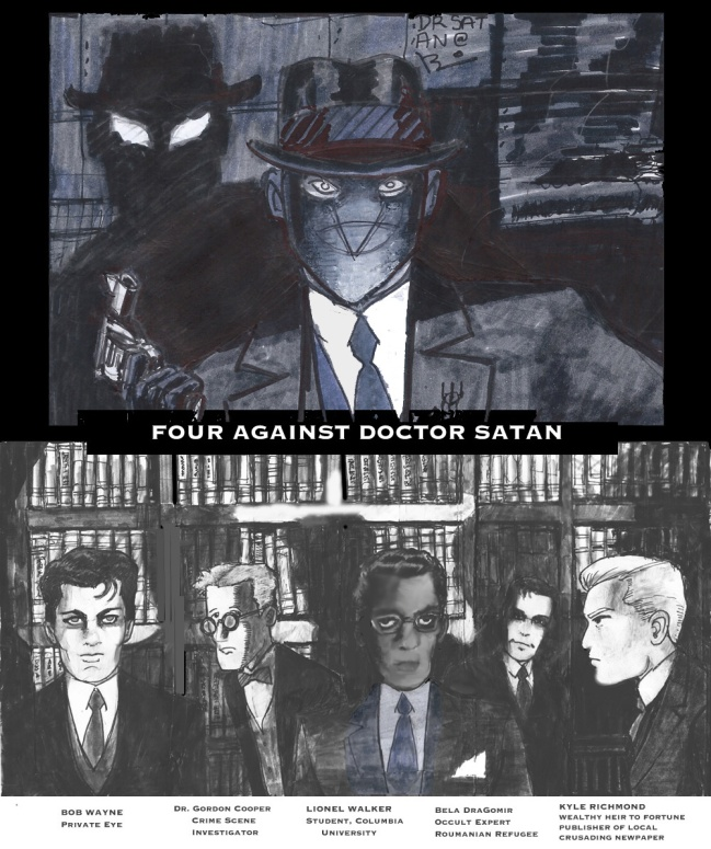FIve Against Satan in